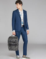 UNSTRUCTURED WOOL SUIT