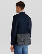 MESSENGER BAG WITH PAISLEY DESIGNS