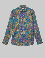 COTTON SHIRT WITH PAISLEY DESIGN