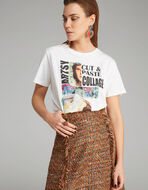 コラージュプリント Tシャツ
