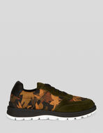 SNEAKERS WITH CAMOUFLAGE PEGASO PRINT