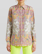 FLORAL PAISLEY PATTERN SHIRT