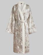 PAISLEY PRINT KIMONO DRESSING GOWN