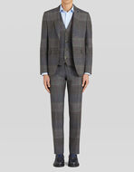 THREE-PIECE PRINCE OF WALES SUIT