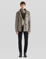 BENETROESSERE RECYCLED WOOL SAFARI JACKET