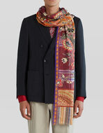 PAISLEY AND FLOWER PATTERN SCARF