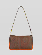 PAISLEY MINI BAG WITH MULTICOLORED DETAILS