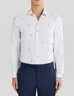 STRIPED BENETROESSERE SHIRT WITH LADYBIRDS