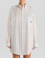 STRIPED GE01 SHIRT WITH PEGASO