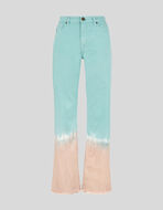 JEANS WITH COLOUR SHADING