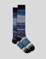 PAISLEY STRIPED JACQUARD SOCKS
