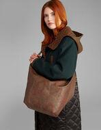 PAISLEY SHOULDER BAG WITH MAKE-UP BAG