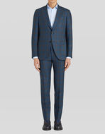 TAILORED SUIT WITH CHECK PATTERN