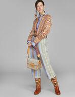 PAISLEY FABRIC RAINBOW BAG