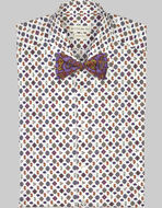 TWO-FABRIC BOW TIE