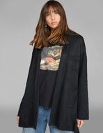 CARDIGAN WITH FLORAL MOTIFS