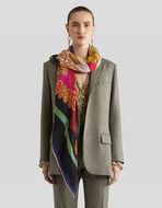 羊绒印花围巾
