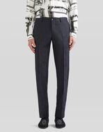 JACQUARD TAILORED TROUSERS WITH PAISLEY PATTERN