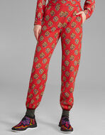 PRINTED JOGGING TROUSERS
