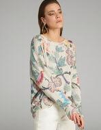 花卉印花套衫