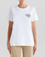 T-SHIRT WITH EMBROIDERED ETRO LOGO