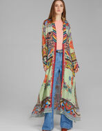 MAXI PATCHWORK PRINT COAT