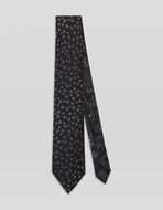 TWO FABRIC PAISLEY PATTERN TIE