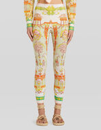 LEGGINGS CON ESTAMPADO FOULARD