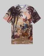 砂漠プリント Tシャツ