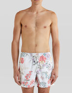 SWIM SHORTS WITH FLOWERS AND BUTTERFLIES