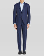 DECONTRUCTED STRIPED WOOL    SUIT