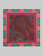 PAISLEY-PRINT POCKET SQUARE