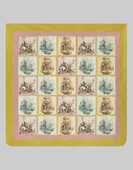 SILK QUILT WITH ARCHIVE PRINT