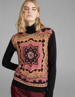 カーペットプリント セーター