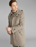 BENETROESSERE HOODED COAT