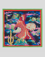 EAGLE PRINT POCKET SQUARE