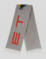 CASHMERE CLOTH SCARF WITH PEGASO