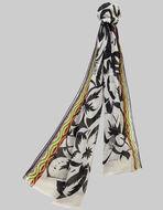 夏威夷风花卉印花围巾