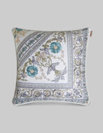 ORNAMENTAL PRINT SILK TWILL CUSHION