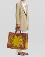 PAISLEY JACQUARD SHOPPING BAG