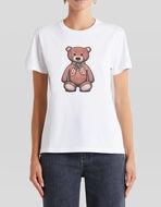T-SHIRT WITH PAISLEY TEDDY BEAR
