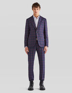 CHECK PATTERN TAILORED SUIT