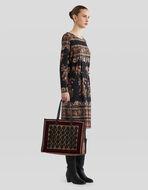 大号刺绣购物袋