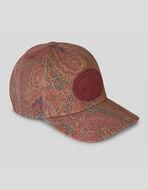 PAISLEY PRINT COTTON HAT
