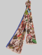 ENCHANTED FOREST-PRINT SCARF