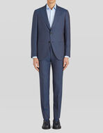 TAILORED PINSTRIPED SUIT IN WOOL
