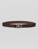 REVERSIBLE BELT WITH PEGASO BUCKLE
