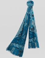 PAISLEY印花羊绒围巾
