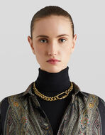 CHOKER NECKLACE WITH CHAIN