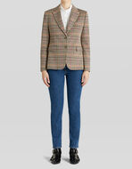 PRINCE OF WALES JACKET IN COTTON AND WOOL